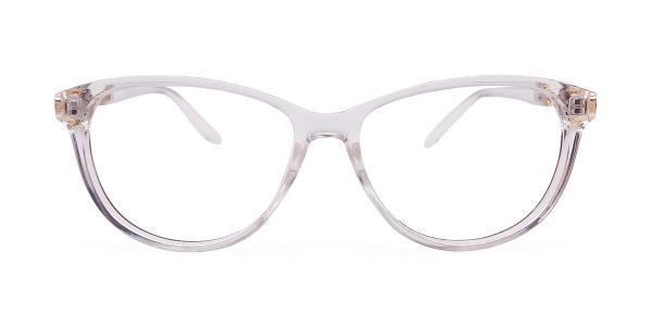 95161 Lakesha Oval clear glasses