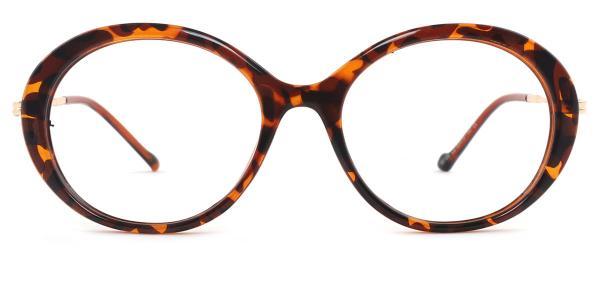 95186 Jessica Oval tortoiseshell glasses