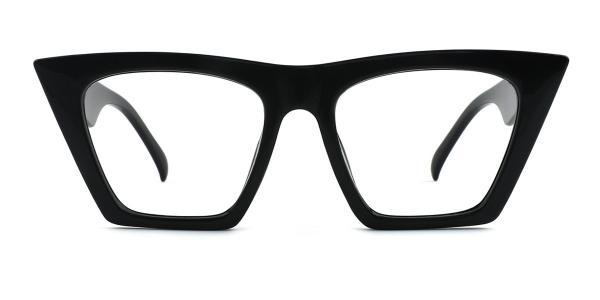 9522 Bella Belle Cateye black glasses