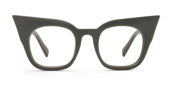 95231 Sabina Cateye green glasses