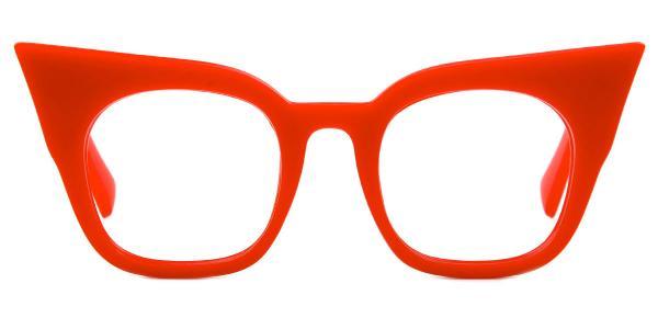 95231 Sabina Cateye red glasses