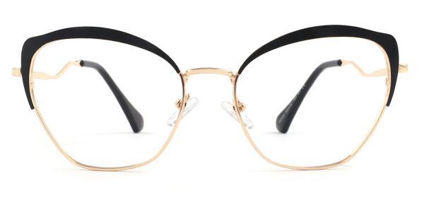 95546 Suzanne Cateye black glasses