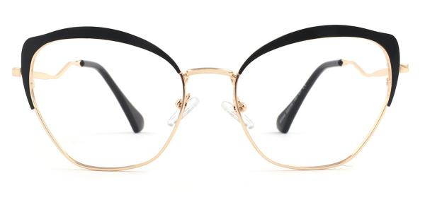 95546 Suzanne Cateye brown glasses