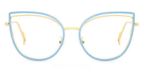 95597 Ondine Cateye blue glasses
