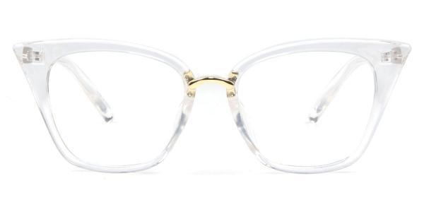 97093 Damaris Cateye clear glasses
