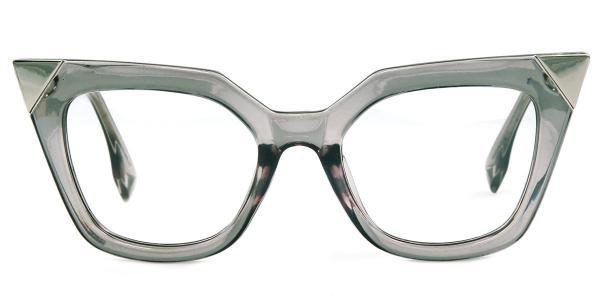 97153 Nakita Cateye grey glasses