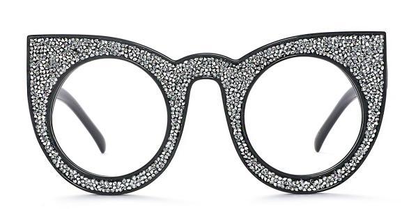 97259 Xilla Cateye grey glasses