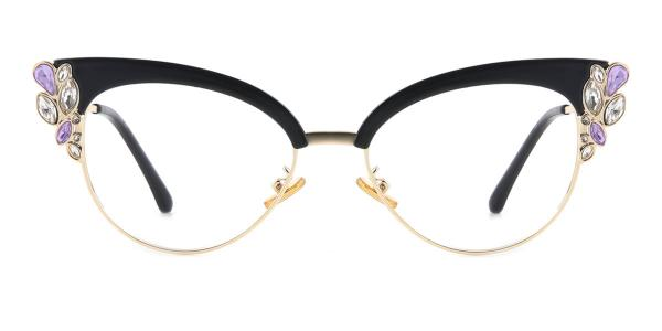 97329 Moana Cateye black glasses