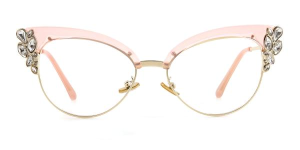 97329 Moana Cateye pink glasses
