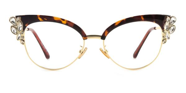97329 Moana Cateye tortoiseshell glasses