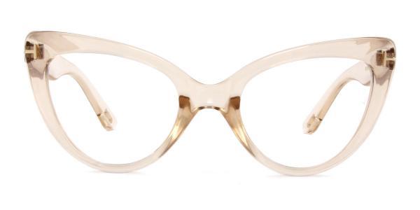 97398 Devorah Cateye brown glasses