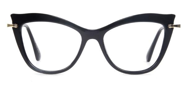 97525 Izabella Cateye black glasses