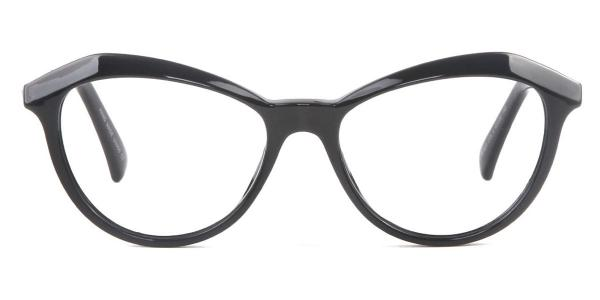 97530 Angelou Cateye white glasses