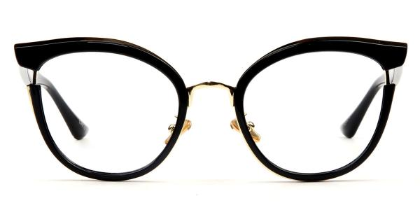 97551 Louise Cateye black glasses