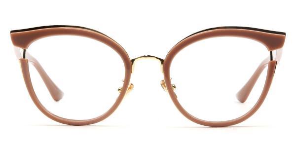 97551 Louise Cateye brown glasses