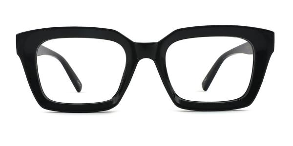 97562 Renee Rectangle black glasses