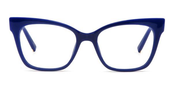 97564 Doyle Rectangle blue glasses