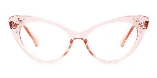 97568 Rogers Cateye pink glasses