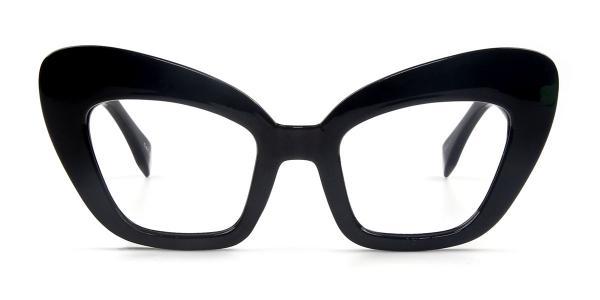97572 Esther Cateye black glasses