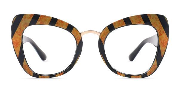 97672 Yanessa Cateye black glasses