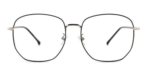 99093 Butler Geometric gold glasses