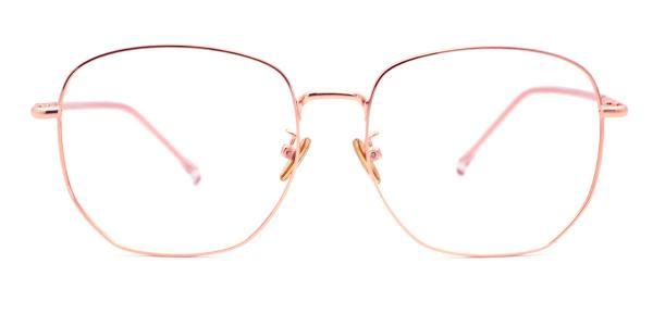 99093 Butler Geometric pink glasses