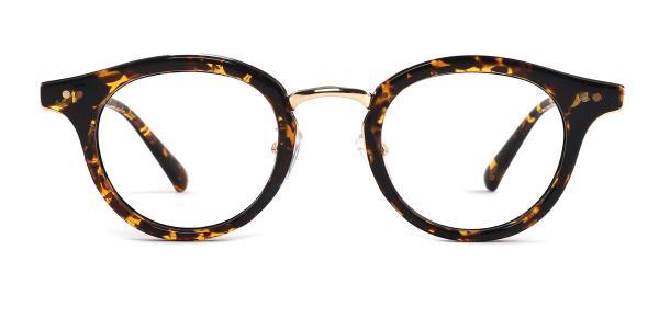 A-8651 Joanna Oval tortoiseshell glasses