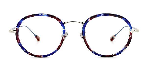 AB9011 Kelsie Oval black glasses