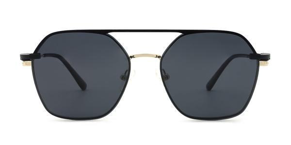 DP33066 icey Aviator gold glasses