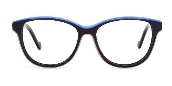 DR811 Orli Oval tortoiseshell glasses