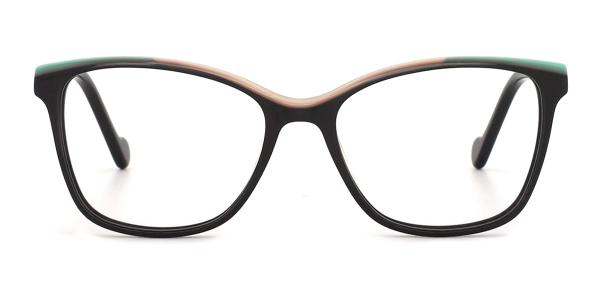 DR813 Ife Cateye brown glasses