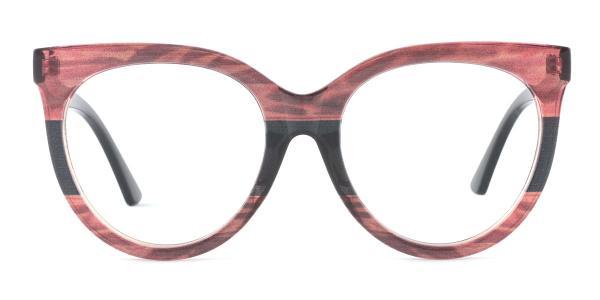 GG0179S Roxie Round orange glasses
