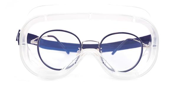 HM11 Safety Goggles Aviator clear glasses