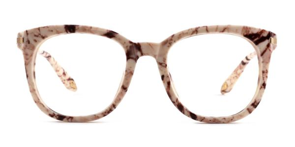 HT007 Heather Oval tortoiseshell glasses