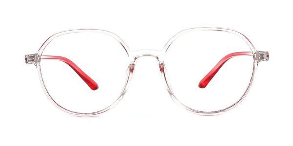 K8055 Jerrie Geometric yellow glasses