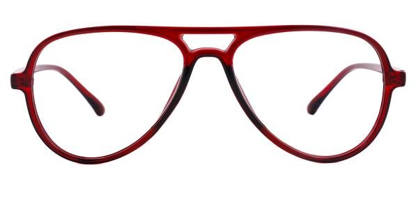 LD2431 Heloise Aviator red glasses