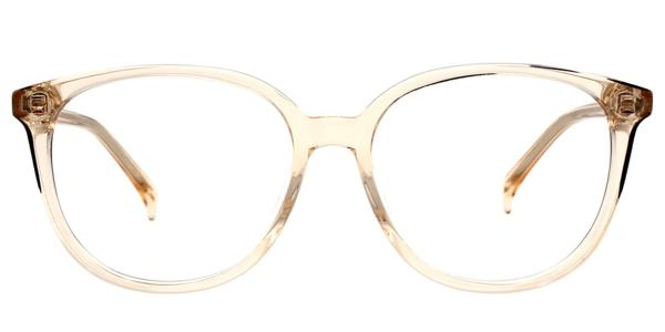 LTO-63006 Seymour Oval yellow glasses