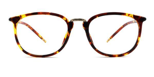 M062 Ingeborg Oval tortoiseshell glasses