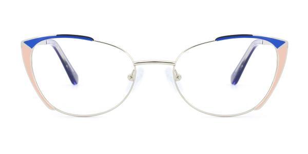 M1002 Pamella Cateye red glasses