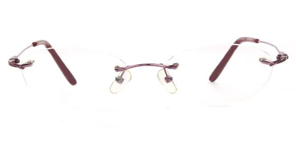 M3121 Odetta Oval red glasses
