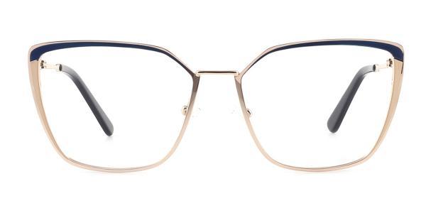 M8613 Thelma Cateye blue glasses