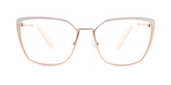 M8613 Thelma Cateye white glasses