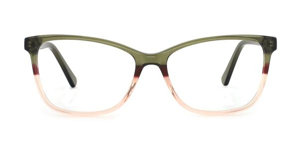 RD155 Katlyn Cateye green glasses