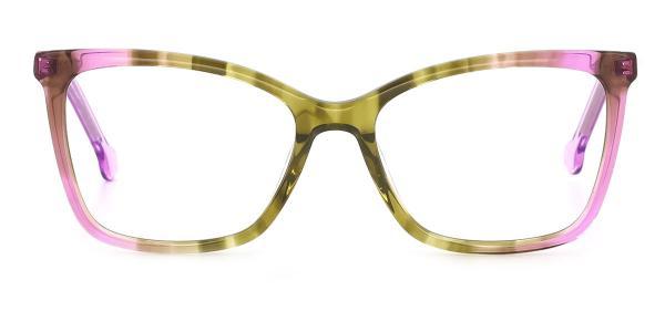 RD162 Maureen Cateye purple glasses