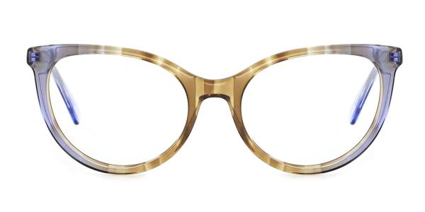 RD164 Frieda Cateye green glasses