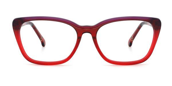 RD3131 Kaelyn Cateye purple glasses