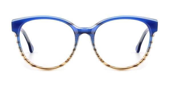 RD3132 Jakayla Oval purple glasses