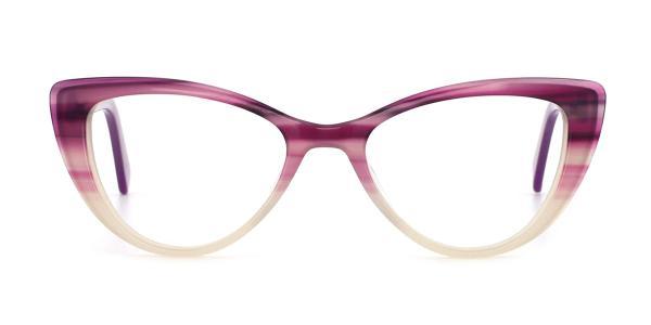 RD3137 Noa Cateye purple glasses