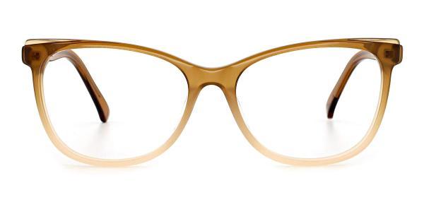 RD3138 Misty Cateye brown glasses