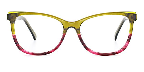 RD3138 Misty Cateye green glasses